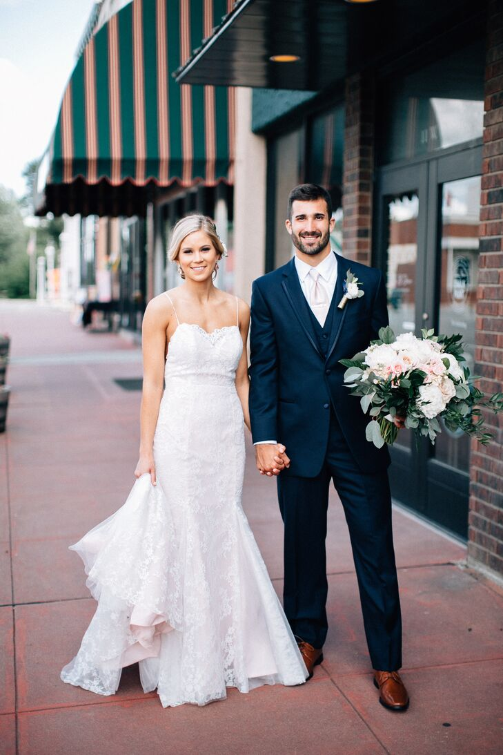 Ashley Morefield (22 and a florist) and Jonathan (Jonny) Foote's (22 and in landscaping) story began at a wedding, but it wasn't their own. Instead, t