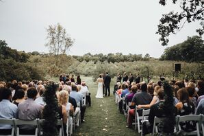 Outdoor Ceremony at Minnetonka Orchards