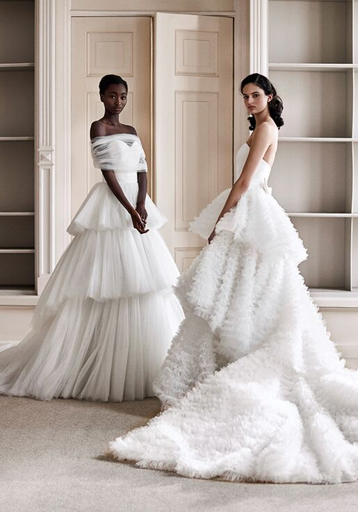 Viktor&Rolf Mariage TULLE DREAM TIERED GOWN Ball Gown Wedding Dress