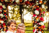 With the help of his children and grandchildren, Michael Mertens planned a 50-year vow renewal ceremony for his wife, Rose, whom he started dating in