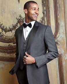 BLACKTIE MILAN Steel Grey Wedding Tuxedo Gray Tuxedo