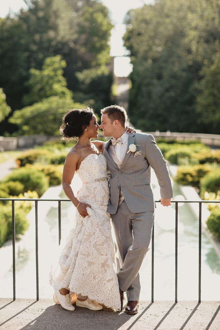 A Romantic Blush Wedding At Cranbrook House Gardens In