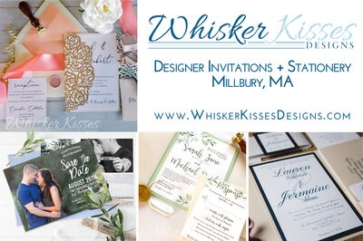 Whisker Kisses Designs Invitations