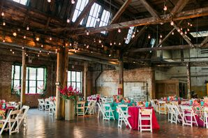 Greenpoint Brooklyn Loft Wedding Reception