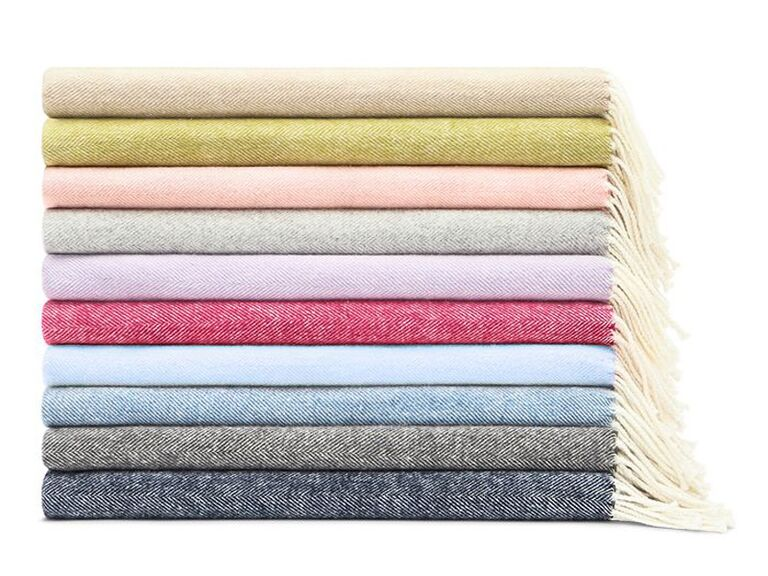 Throw blanket luxury gift for mother-in-law