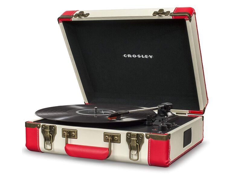 Bluetooth turntable second anniversary gift for him