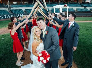 For Ashley Dupski (26 and a physical education teacher) and Josh Dick (25 and a cost estimator), baseball has always been an important part of their l