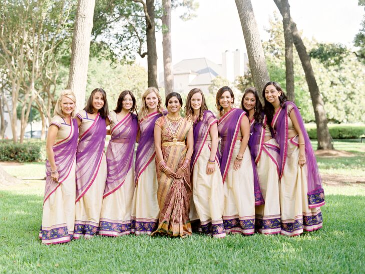 Traditional Indian Bridesmaid Attire