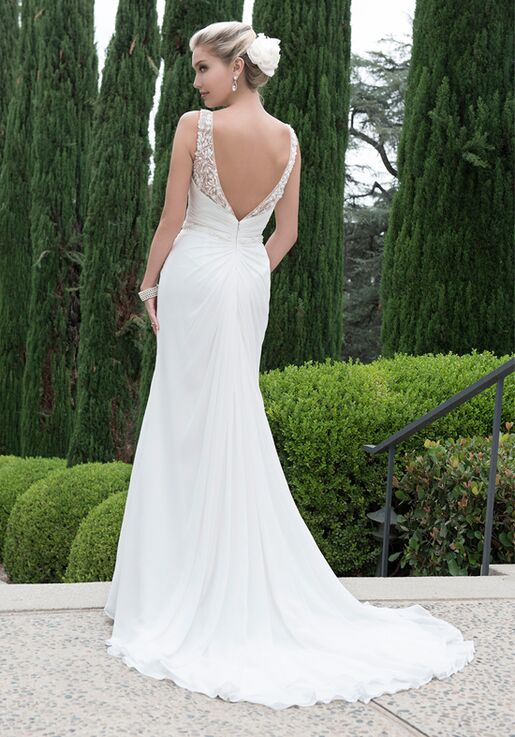 Pallas Athena PA9218 A-Line Wedding Dress