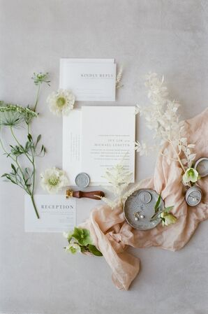 Classic, Simple Wedding Invitations with Typography