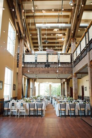 Indoor Reception for Mountain Wedding