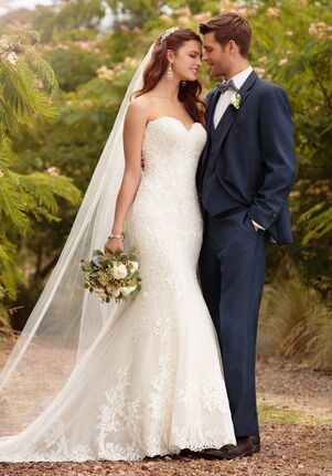Essense of Australia D2209 Mermaid Wedding Dress