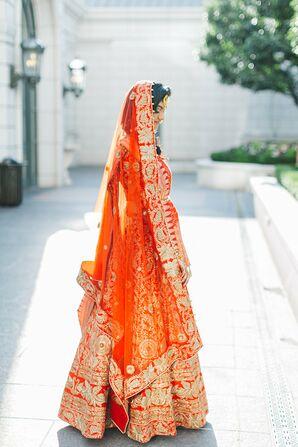 Traditional Bridal Sari