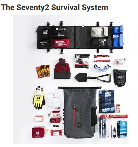Rated #1 2019 Disaster Survival Kit