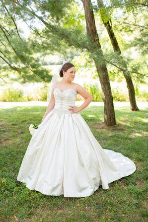 Beaded Ball Gown Wedding Dress
