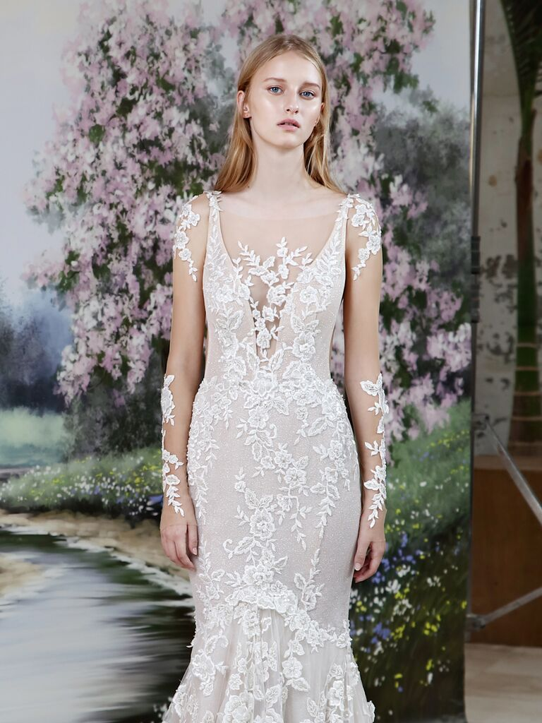 73b83f8b5b5 Galia Lahav No. 7 Fall 2019 Collection  Bridal Fashion Week Photos