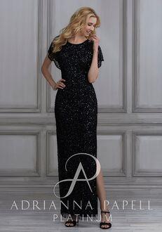 Adrianna Papell Platinum 40111 Scoop Bridesmaid Dress