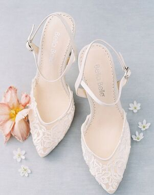 Bella Belle MINA Ivory Shoe