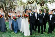 For their Georgia wedding, Desiree and Pedro chose a bright, vibrant aesthetic to complement their romantic garden ceremony while highlighting the che