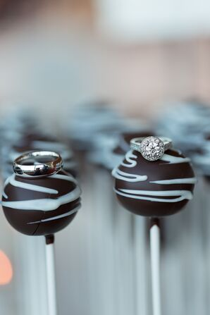 Elle and James's Cake Pops and Wedding Rings