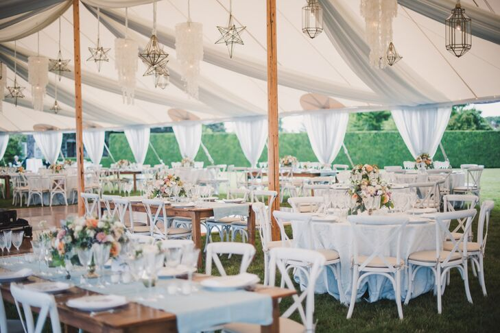 Provencale Glam Tented Reception