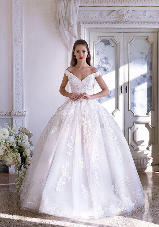eca4f493d57 Platinum by Demetrios DP399 - Renee Wedding Dress - The Knot