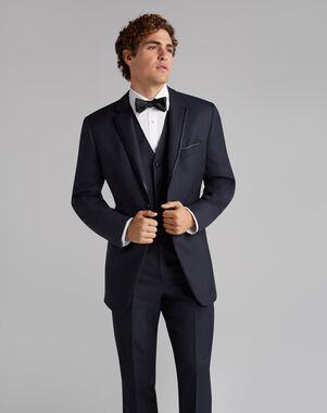 665edab57be993 Jos. A. Bank. Notch Lapel Navy Tuxedo