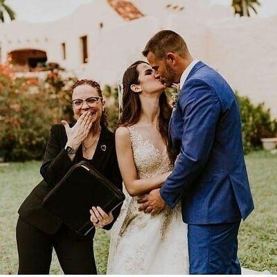 Adri Camacho Bilingual Wedding Officiant - Notary