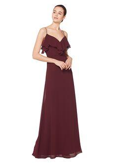 Bill Levkoff 7075 V-Neck Bridesmaid Dress
