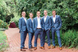 Harbor Blue J.Crew Ludlow Groomsmen Suits