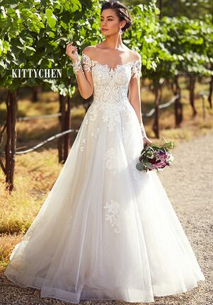 KITTYCHEN JESSICA, H1937 Ball Gown Wedding Dress
