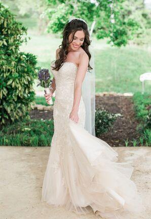 Champagne-Colored Wedding Dress Stella York