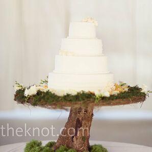Rustic Cake Display