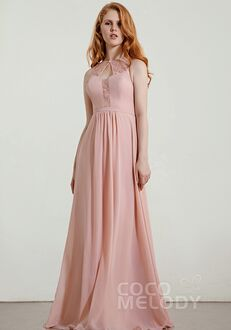 CocoMelody Bridesmaid Dresses RB0328 Bateau Bridesmaid Dress