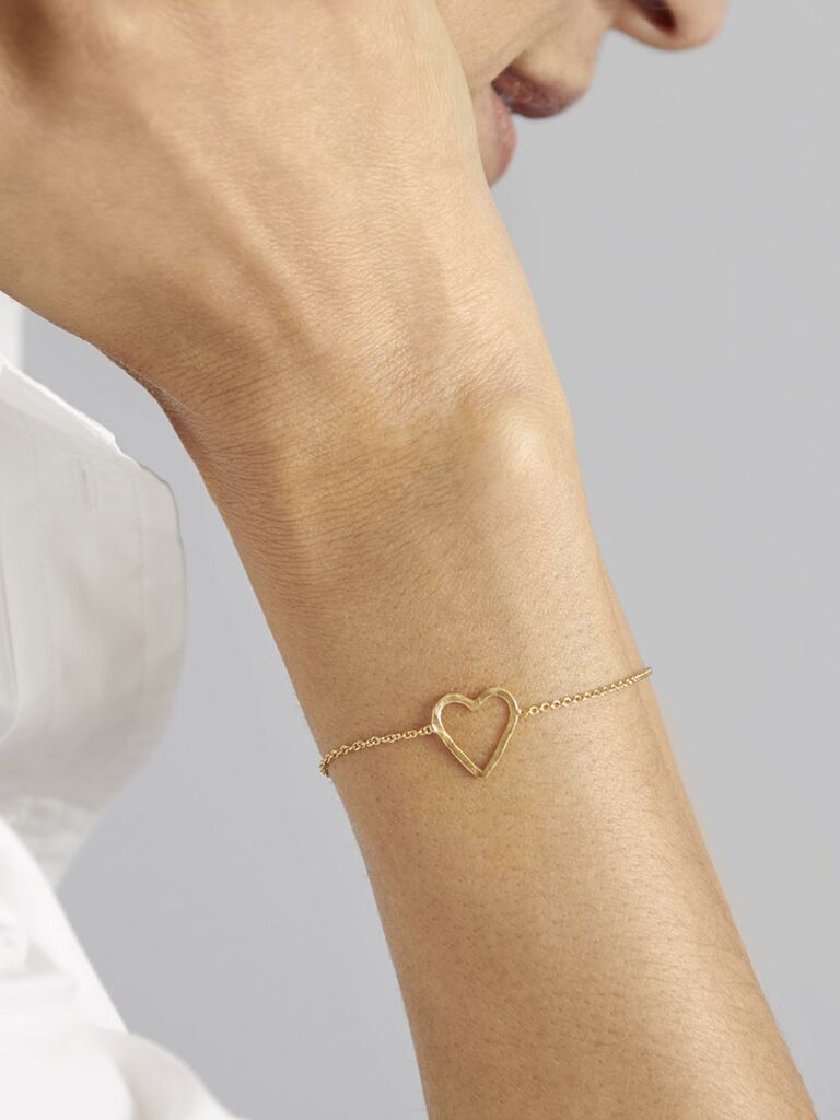Heart bracelet bachelorette party gift