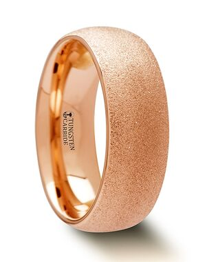 Mens Tungsten Wedding Bands W1263-SBRG Tungsten Wedding Ring