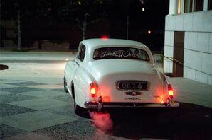 Rolls-Royce Wedding Exit