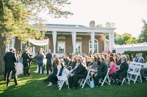Highlands Country Club Back Lawn Ceremony