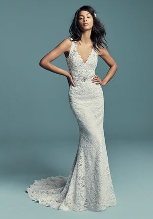 Maggie Sottero Caroline A-Line Wedding Dress