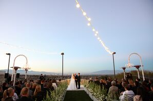 Outdoor Mountain Ceremony in Las Vegas, Nevada