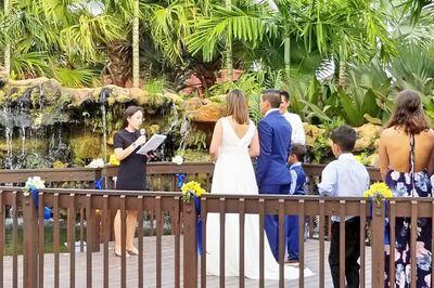 Sarmiento Wedding Officiating
