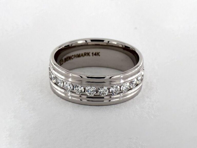 diamond engagement ring for him