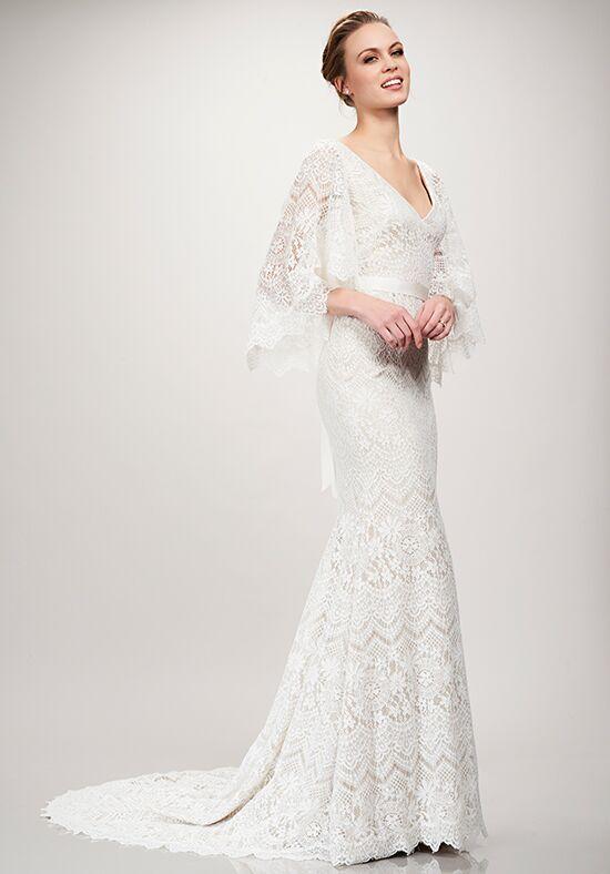 Theia sandy wedding dress the knot theia sandy mermaid wedding dress junglespirit Images