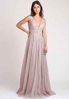 Jenny Yoo Collection (Maids) Kaelyn V-Neck Bridesmaid Dress