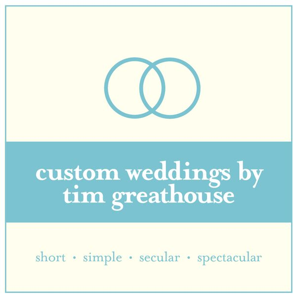 Tim Greathouse, Ohio Wedding Officiant - Wedding Officiant - Akron, OH