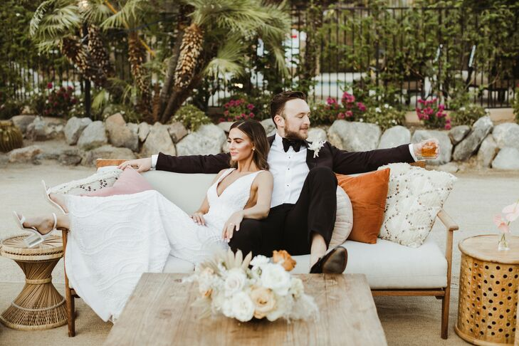Wedding Portraits at Colony 29 in Palm Springs, California