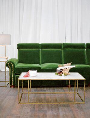 Green Vintage Lounge Furniture