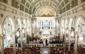 Classic Catholic Ceremony at the Annunciation Catholic Church