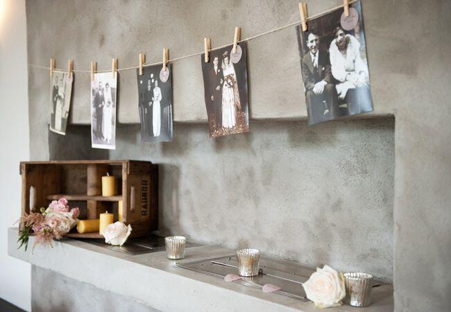 DIY clothespin wedding ideas: AMB Photo / TheKnot.com