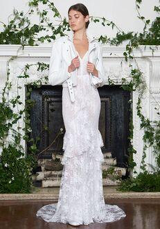 Monique Lhuillier Alexis Sheath Wedding Dress